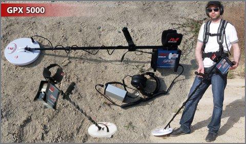 جهاز التنقيب عن الذهب تحت الارض GPX5000