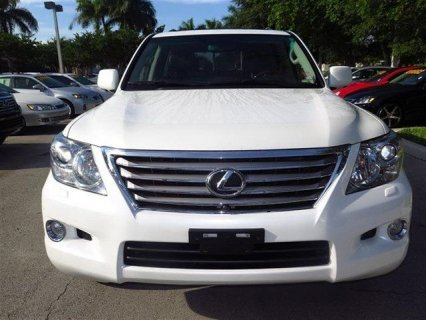FULL OPTION 2011 LEXUS LX 570 FOR SALE