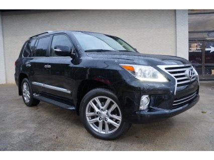 USED 2013 LEXUS LX 570, GCC-SPEC