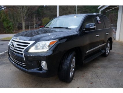 2013 LEXUS LX 570 BLACK SUV ON SALE