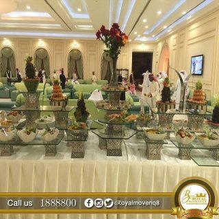 تجهيزات غذائية بالكويت | شركة تجهيز حفلات
