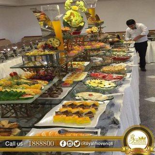 أشهى بوفيهات الكويت| شركة رويال موفنبيك للتجهيزات الغذائية
