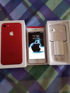 ابل اي فون 7 بلس 256 جيجابايت (برودوكت) RED-: واتساب نومبر: +447452264959