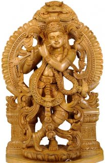 Most beautiful wood carving sculpture for sale.