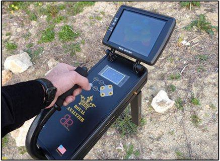 افضل جهاز تصويرى كاشف للذهب لعمق 32 متر تحت الارض Royal Analyzer