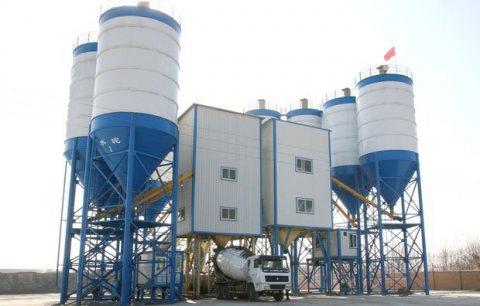 محطة خلط الخرسانة 120 م³ / سا