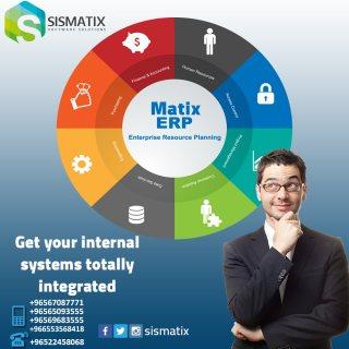 برنامج ERP | افضل البرامج المحاسبية في الكويت | Matix ERP