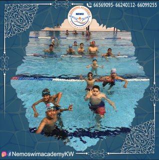 أكاديمية سباحة في الكويت | اكاديمية نيمو - 65805010