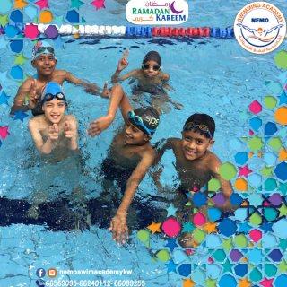 أفضل مدربين سباحة بالكويت | اكاديمية نيمو - 66569095