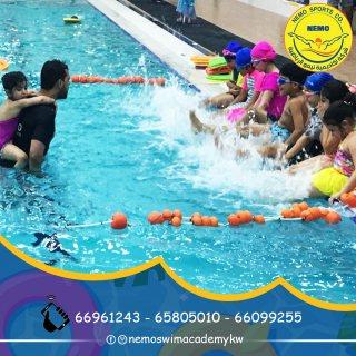 اكاديمية سباحة بالكويت | اكاديمية نيمو - 66099255