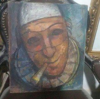 لوحه قديمه لفنان ايطالي شهير