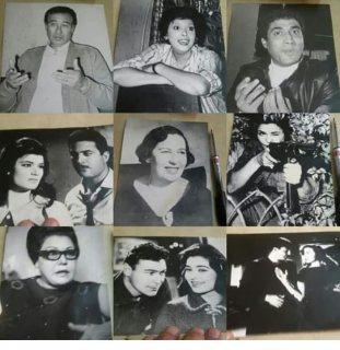 صور فنانين قديمه ونادره