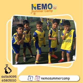 نادي للاطفال بالكويت | تعليم كرة قدم | اكاديمية نيمو - 66099255