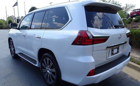 lx570 lexus 2019 gulf model