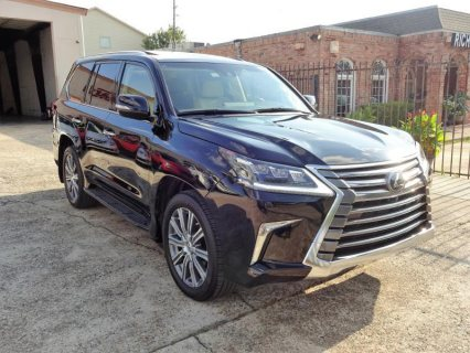 Selling Used 2017 Lexus LX 570 Jeep Full Options