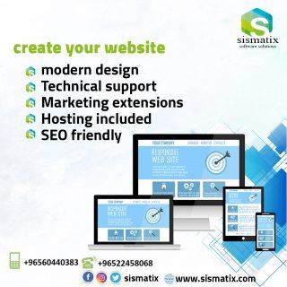 تصميم وبرمجة المواقع الالكترونية بخصومات هائلة - 0096567087771
