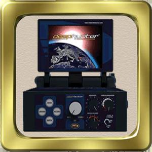 Deep Hunter Proجهاز بالنظام التصويري للتنقيب عن الذهب  والفراغات