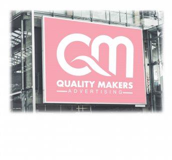 تركيب إعلانات المحلات التجارية في الكويت | شركة كواليتي ميكرز للدعاية والإعلان