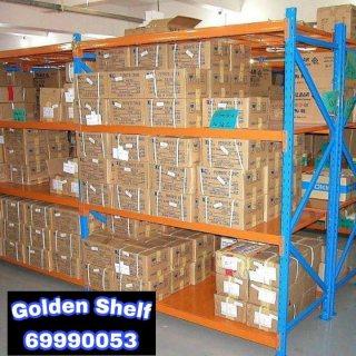 ارفف تخزين معدنيه -خزاين-shelf - rack- strong system