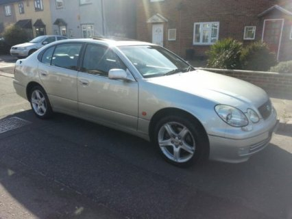 LEXUS GS300 2003 52REG SAT NAV HEATED LEATHER SEATS