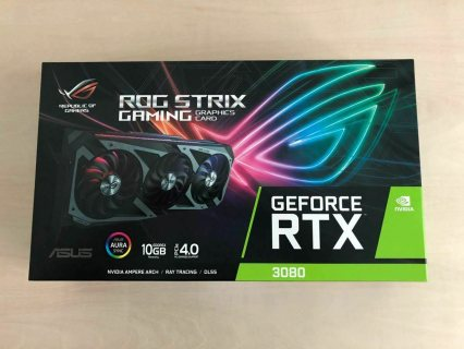 ASUS ROG Strix NVIDIA GeForce RTX 3080 Edition Gaming Graphics Card