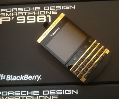 صور Blackberry P'9981 Black & Silver Add Pin 233DAA2F 1