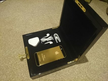 Vip Pins Blackberry Porsche 24k Gold, Apple iPhone 5s 24k Gold