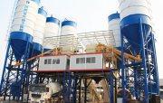محطة خلط الخرسانة 180 م³ / سا