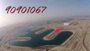 للبيع ارض على البحر قريب من المارينا في مدينه صباح الأحمد البحري